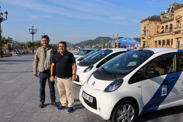 Presentación de los nuevos vehículos eléctricos.