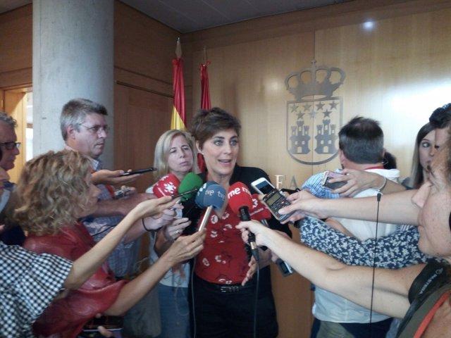 Portavoz de Podemos en la Asamblea, Lorena Ruiz-Huerta