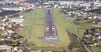 El aeropuerto de A Coruña contará en octubre con una nueva maniobra de aterrizaje