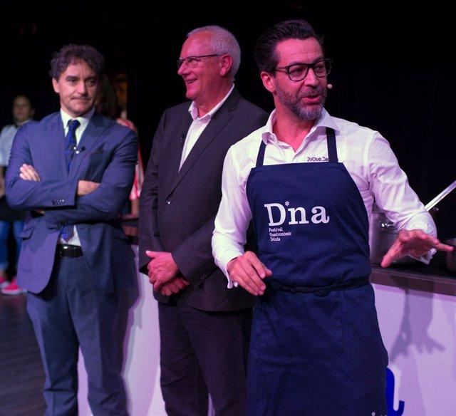 Presentación del D*NA Festival Gastronómico