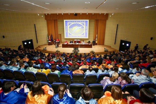 Inauguración del curso académico 17-18 en la UPO
