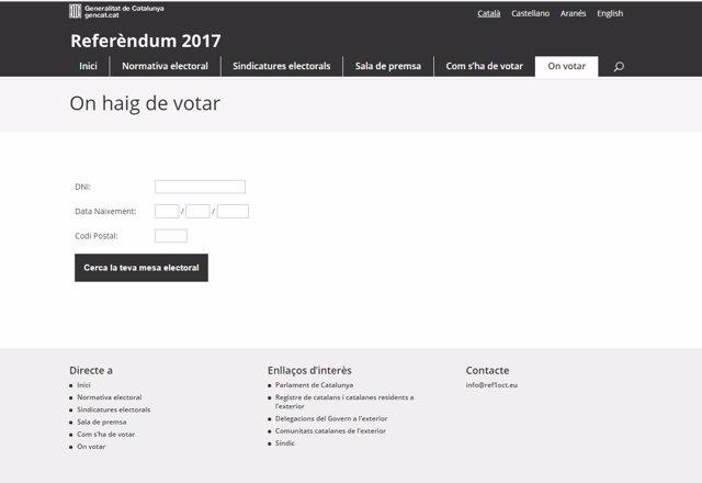 Web On Votar