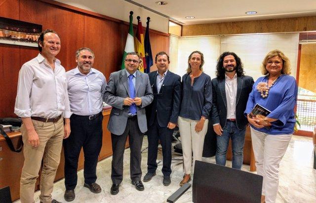 Reunión del Clúster Destino Jerez con el viceconsejero de Turismo
