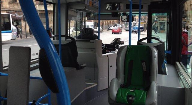 Autobús urbano en Salamanca