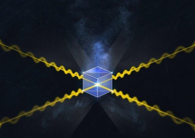 Un cubo de cristal, elemento nuclear del nuevo repetidor cuántico