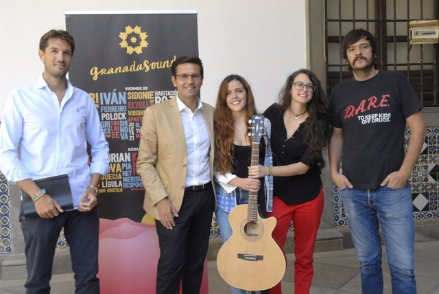 Presentación del festival Granada Sound 2017