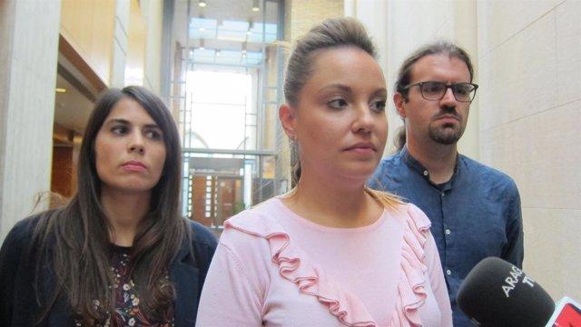 Podemos lamenta que el PSOE Aragón no ceda el espacio.