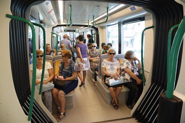 Primera jornada del metro de Granada