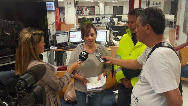 Comparecencia de la consejera canaria de Política Territorial, Nieves L. Barreto