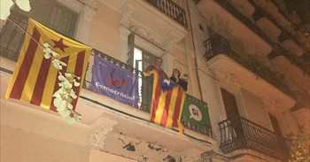 Segunda jornada de 'caceroladas' en Catalunya contra las detenciones y a favor del 1-O