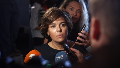 Santamaría responde a Puigdemont que a eso se ha reducido el referéndum, a un plan de contingencia