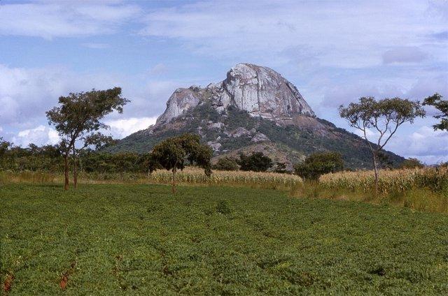 Monte Hora (Malawi), origen de algunas muestras analizadas
