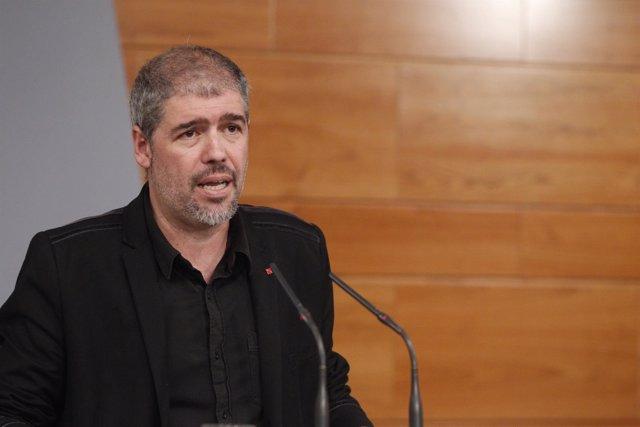 Rueda de prensa de Unai Sordo, nuevo secretario general de CCOO