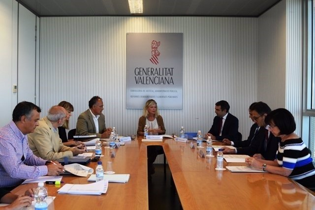 Reunión en la que se constituyó el nuevo Consejo Asesor de Justicia Gratuita