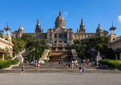 La Generalitat es planteja que el MNAC creixi al pavelló Victòria Eugènia a deu anys vista (BIEL PUIG VENTURAB)