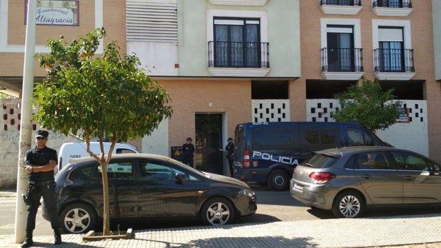Operación policial en Mérida