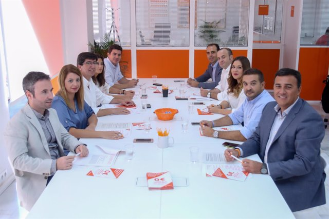 Reunión del Comité Autonómico Andaluz de Cs