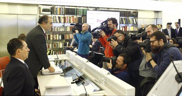 Ángel Ron presenta los resultados del banco