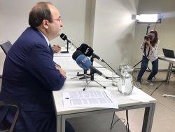Iceta insisteix que Colau no cedirà locals i aposta per desvincular el pacte a Barcelona de l'1-O (EUROPA PRESS)