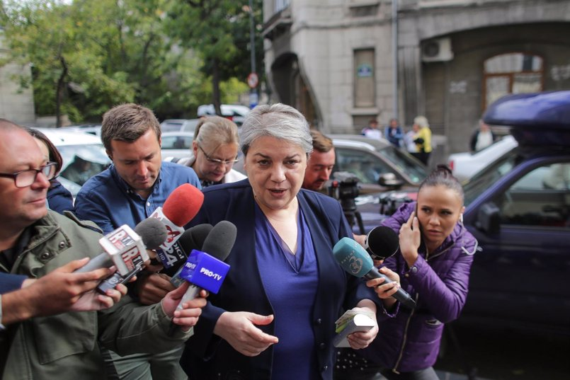 La Fiscalía de Rumanía declara sospechosa de corrupción a la viceprimera ministra