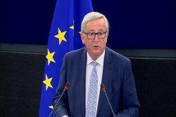 1-O.- Juncker no ha contactat amb Rajoy per la situació a Catalunya (EUROPAPRESS)