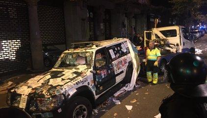 La Fiscalía denuncia por sedición ante la Audiencia Nacional los ataques contra la Guardia Civil