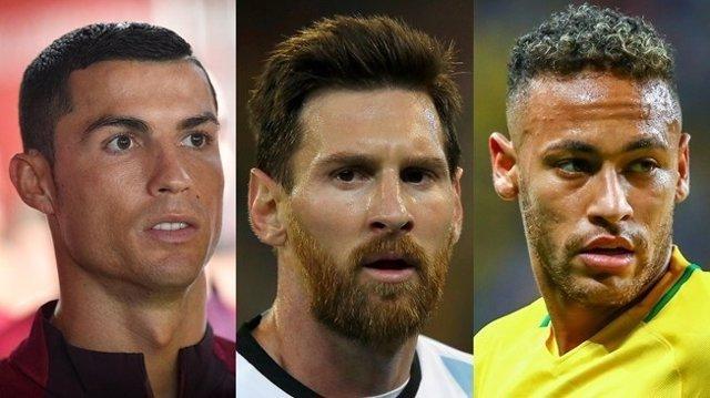 Cristiano, Messi y Neymar, finalistas al premio 'The Best' de la FIFA