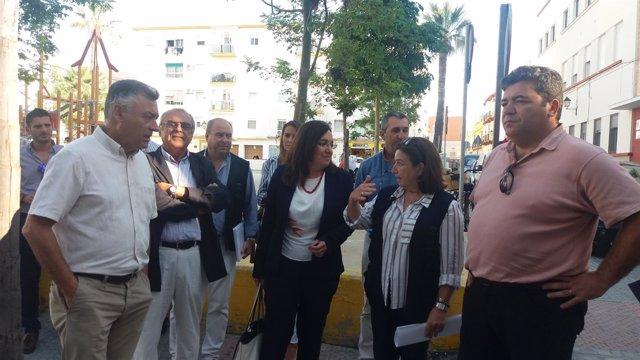 Catalina Madueño visita Cádiz