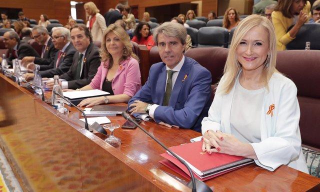 Cifuentes, En El Debate Sobre El Estado De La Región La Presidenta De La Comunid