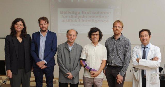 Los investigadores Montero, Barbieri, Hueso, Vellido, Jonsson y Cruzado