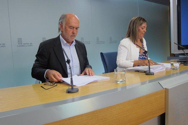 Valladolid. Rabanal y Marcos tras el Consejo de Gobierno