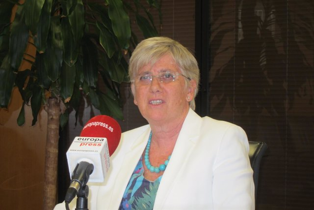 La consellera de Enseñanza de la Generalitat, Clara Ponsatí
