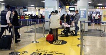 Avances en las negociaciones para la mejora de condiciones de los vigilantes del aeropuerto de Barajas