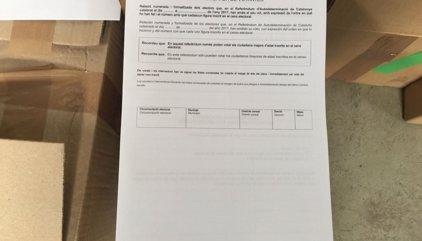 """La ley del referéndum establece que los miembros de la Sindicatura son """"inamovibles"""""""