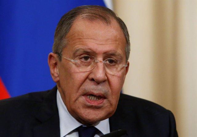 Sergei Lavrov, ministro de Exteriores ruso