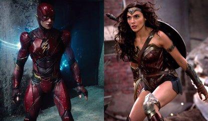 ¿Será Wonder Woman la villana de Flashpoint, la película en soltiario de The Flash? (WARNER)