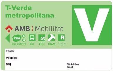 La T-Verda Metropolitana començarà a funcionar el 2 d'octubre (AMB)