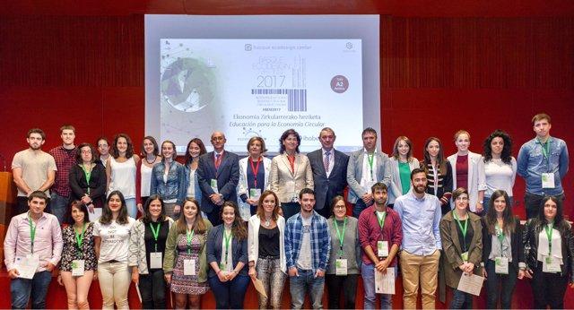Alumnos del Basque Ecodesign Hub