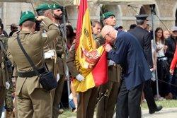 Més de 300 persones juren bandera al Castell de Figueres en un acte militar a una setmana de l'1-O (ACN)
