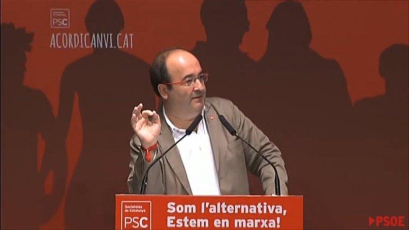 """Vídeo: Iceta: """"La respuesta judicial y policial empeorará la situación """""""