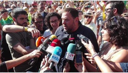 """Junqueras avisa la Guàrdia Civil que els que els demanen detencions manquen d'""""honradesa"""""""