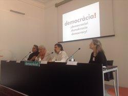 Més de 125 polítics i activistes de 15 autonomies signen un manifest prorreferèndum (Europa Press)
