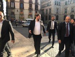 Junqueras recolza a Forn després de rebutjar que l'Estat assumeixi la coordinació de Mossos (Europa Press)