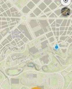 Una 'app' de l'Institut Cartogràfic permet compartir la localització en xarxes socials (ICGC)