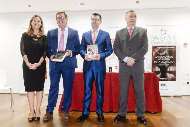 Francisco Pasamontes gana el IX Certamen de Novela Ciudad de Almería
