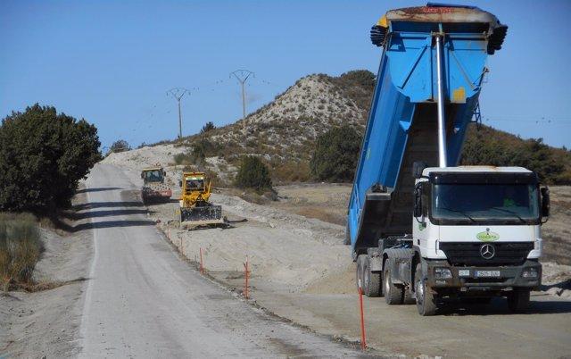 La carretera entre Monegrillo y Osera, cortada a partir de este lunes.