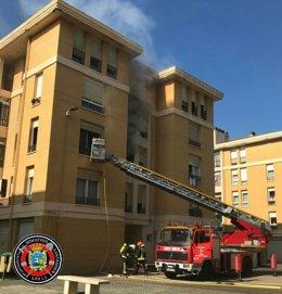 Incendio en vivienda de Peñacastillo