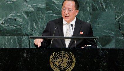 """Pyongyang advierte que los insultos de Trump a Kim Jong Un hacen """"inevitable"""" que sus cohetes sobrevuelen EEUU"""