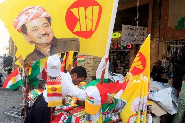 Material relacionado con el referéndum kurdo