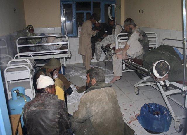 Heridos en Uruzgan (Afganistán)